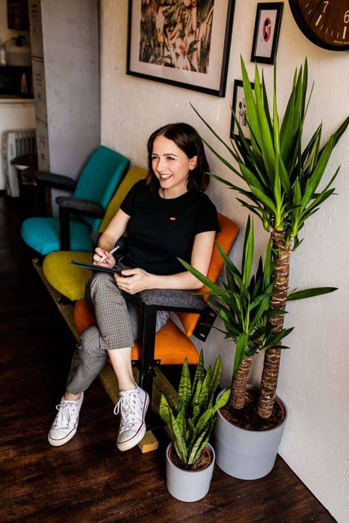 An image of Gemma Thirsk, Founder of That's Her Business, a collective of female entrepreneurs who build websites and brands.