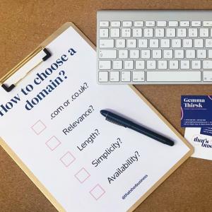 Choosing a domain check list on clipboard